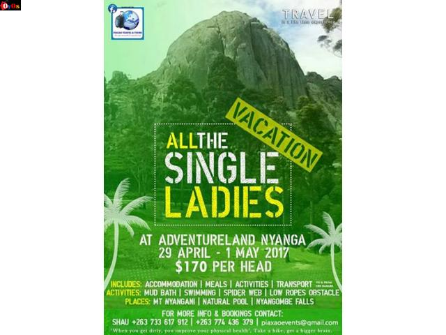 April Single Ladies vacation $170
