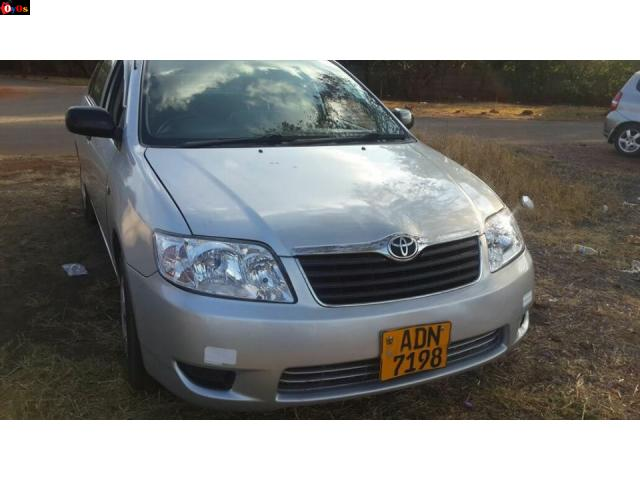 2005 Toyota Corolla (bubble shape)