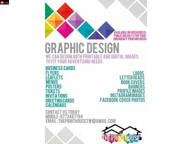 Graphic Design & Printing (Technical Repairs)