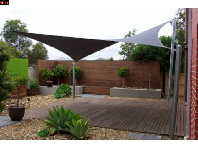 Carports, Shade sails, Chromadeck shades and blind curtains