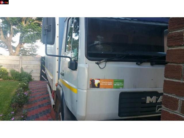 man diesel 7 tonn truck
