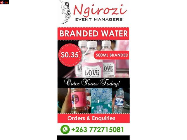 Branded Water: